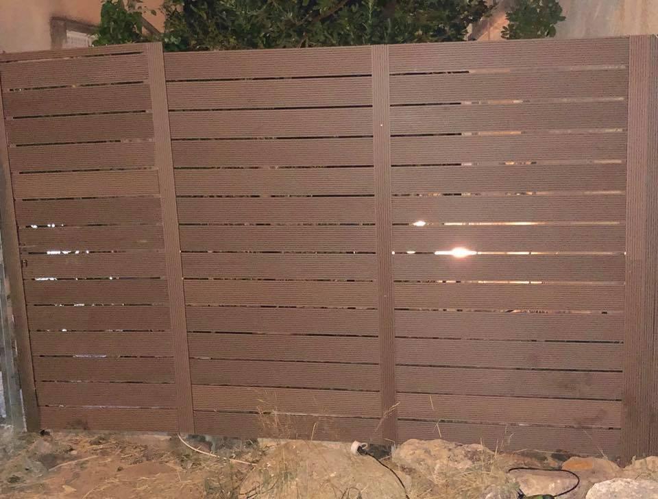 גדר ושער בנשר