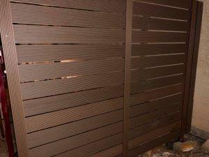 חיפוי קירות לגינה