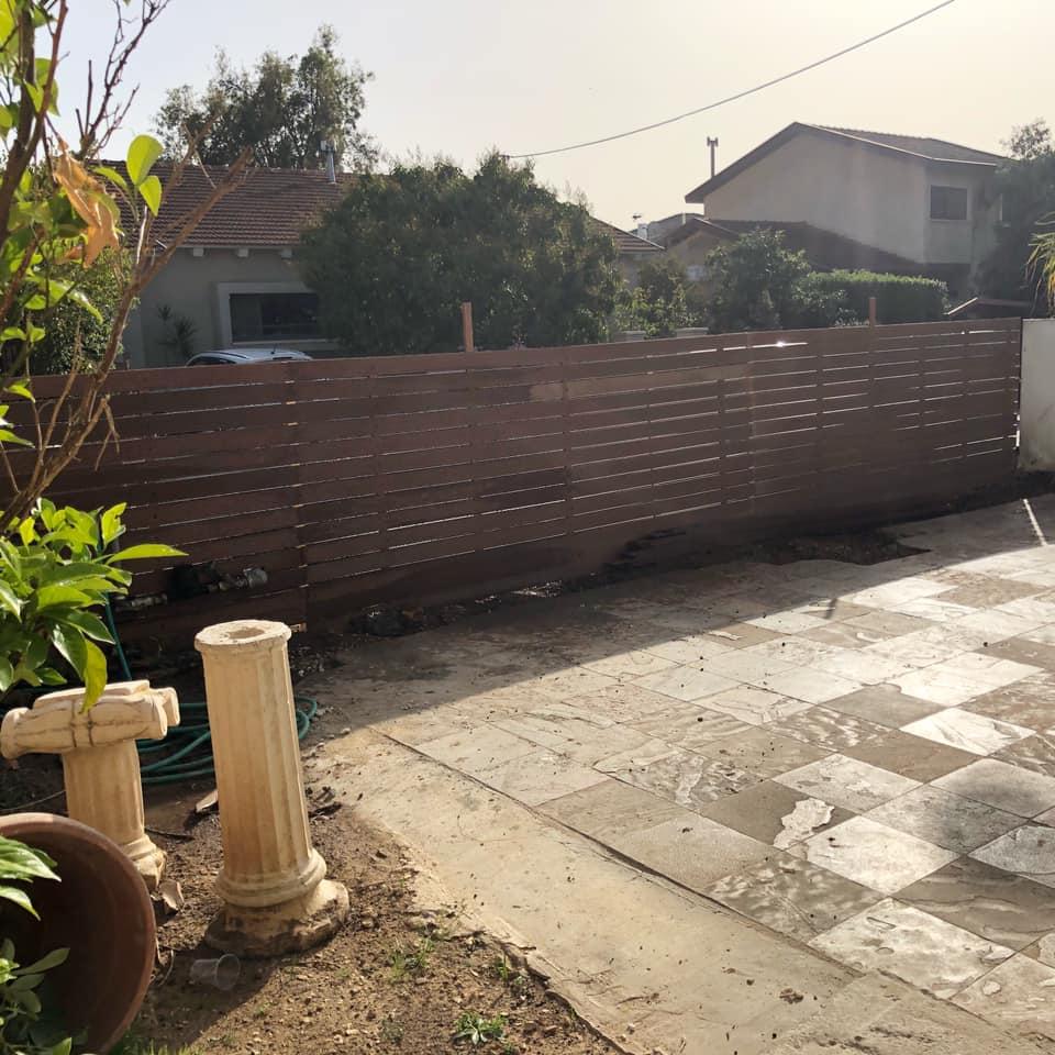 גדר סינטטית ברמת אפעל