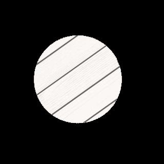דק סינטטי לבן